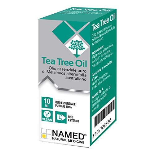 Named Olio Dermopurificante per Uso Topico Tea Tree Melaleuca, Multicolore, 10 ml