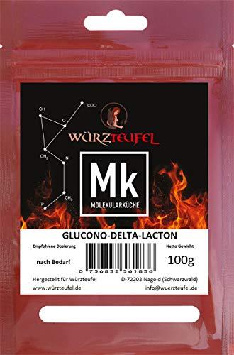 GDL, Glucono-delta-Lacton, Säuerungsmittel E575, Reifemittel für Rohwurst & Käse. Beutel 100g.