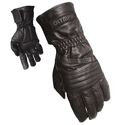 Olympia Sports Men's Gel Sport Gloves (Black, X-Large) - 410 XL