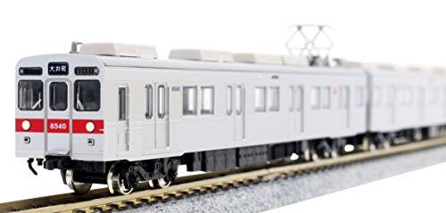 グリーンマックス Nゲージ 東急電鉄8500系 大井町線・8640編成・赤帯 5両編成セット 動力付き 30374 鉄道模型 電車