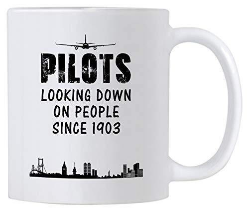 Novelty Pilot Coffee Mug