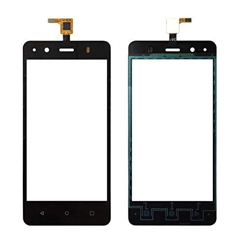 """MOLIBAIHUO 4.5""""Compatible con BQ AQUARIS M4.5 Pantalla táctil Digitalizador de Vidrio Panel táctil Compatible con BQ M4.5 Touch Sensor Black/White sin Pantalla LCD Pantallas táctiles"""