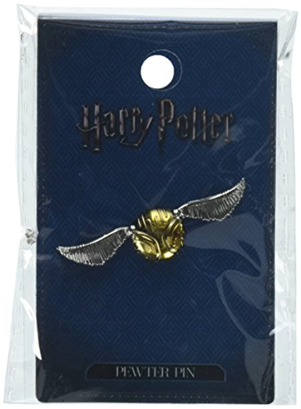 HARRY POTTER Snitch Pewter Lapel Pin Novelty Accessory