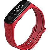 WXJ Pulsera Inteligente esfigmomanómetro de frecuencia cardíaca ECG multifunción Reloj Deportivo podómetro Apple Andrews Universal Impermeable Hombres y Mujeres Ancianos
