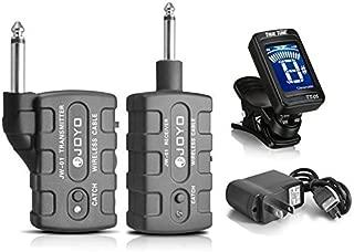 JOYO JW-01 Rechargeable 2.4Ghz Audio Wireless Digital Transmitter Receiver Guitar,Bass,Mandolin,Banjo w/ FREE Tuner