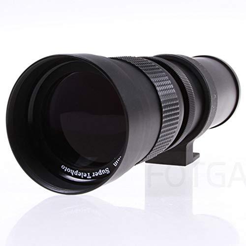 Semoic Teleobjetivo 420-800Mm F / 8.3-16 para Cámaras Nikon Pentax DSLR de Canon