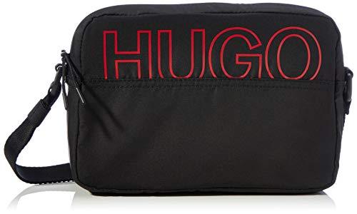 HUGO Damen Reborn Crossbody-Bag, Black1, Normal