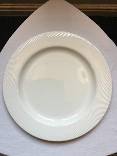 Dudson Twist Plate - Placa giratoria (12 unidades, 300 mm), color blanco