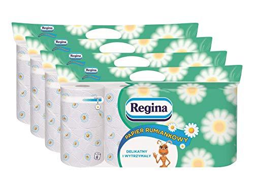 Regina Toilettenpapier 32 Rollen Extra Stark Wc Papier Klopapier Kamillenduft