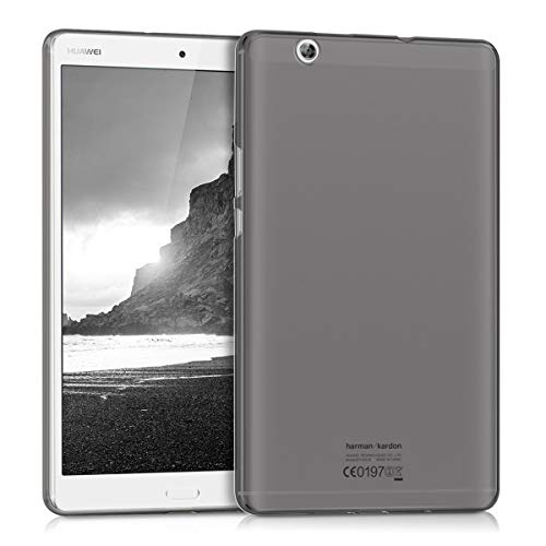 kwmobile Carcasa Compatible con Huawei MediaPad M3 8.4 - Funda para Tablet de Silicona TPU - Cover en Negro
