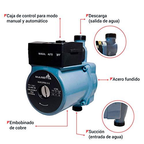 Presurizador Automático Marietta 1/6HP