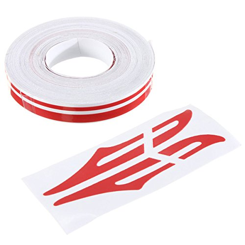 Alamor 1/2Inch Pin Striping Streep Vinyl Tape Decals Stickers 12Mm Voor Auto's Motorfietsen