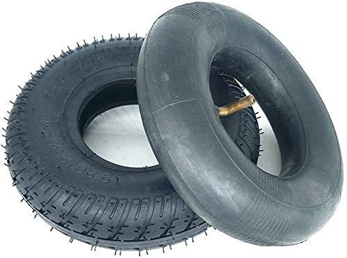 Neumáticos Scooter eléctrico, 2.80-2.50-4 interior y exterior Llantas, arriba elástico de goma, antideslizante y resistente al desgaste, Mayores Vespa de Neumáticos Accesorios Neumáticos de scooter