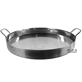 Comal 20  Laguna Stainless Steel Heavy Duty Stir Fry Griddle Concave