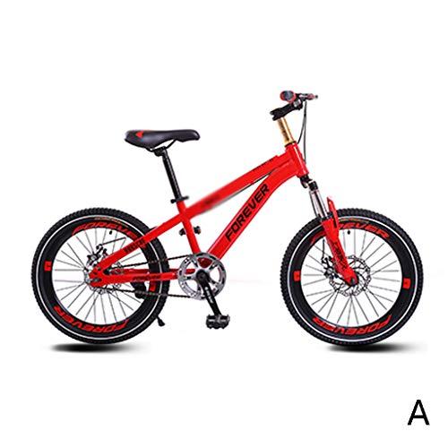 Kinderfietsen fietskermond fiets cursus mountainbike jongenmeisjes - pazi-aanvullende fiets zelfsnelheidsfiets, 18 inch