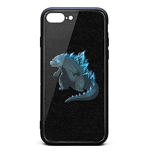 Anti-Fall Godzilla vs.King Kong 2021 Funda rígida para iPhone 7 Plus / 8 Plus 9H Hecha de Vidrio Templado para iPhone 7 Plus / 8 Plus