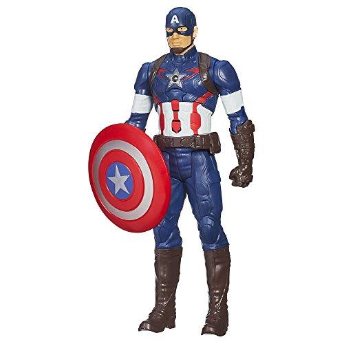 Marvel Avengers Age of Ultron Titan Hero Tech Captain America 12 Inch...