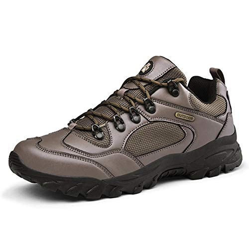 GBZLFH Calzado deportivo de senderismo para hombre, calzado de trekking de ca?a...