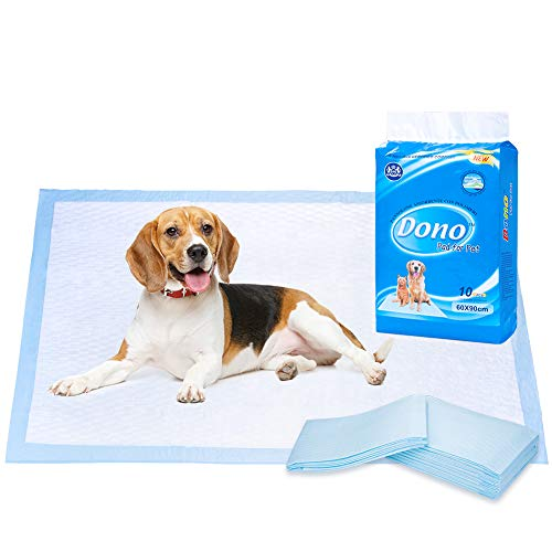 DONO Puppy Dog training Pads super assorbente Dog pee tappeti Pet House training Pads 10PCS confezione