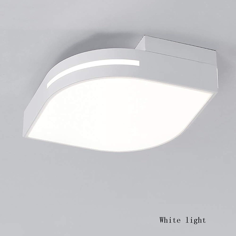 QFFL xidingdeng Einfaches LED kreatives warmes Decken-Licht-   Rechteck-Wohnzimmer-energiesparendes dekoratives Licht-   Schlafzimmer-Restaurant-Gang Dimmable Licht