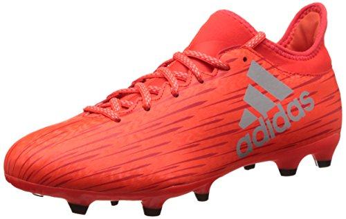 adidas Herren X 16.3 Fg Fußball-Trainingsschuhe, Multicolore (Solred/Silvmt/Hirere), 42 EU