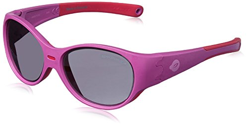 Julbo Puzzle Children Sunglasses with Ultimate Protection and Full Coverage for Boys and Girls (3+ years), Compatible Cord Attachment - Pink/Fuchsia