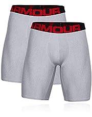 Under Armour Męskie bokserki Tech 9 w 2 parach, szybkoschnące bokserki, wygodna bielizna o ściśle przylegającym kroju