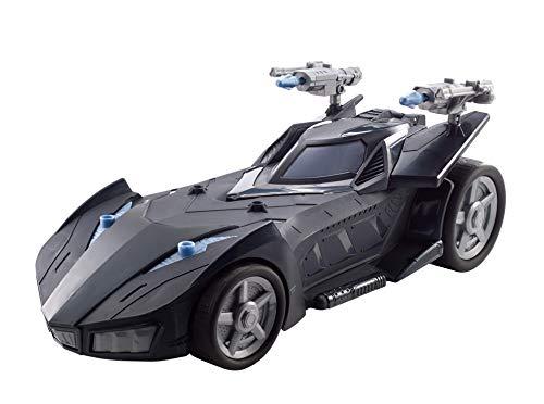 Mattel FVM60 DC Batman Batmobil, mit Abschussvorrichtung, für 30 cm Figuren, Spielzeug Actionfiguren ab 4 Jahren