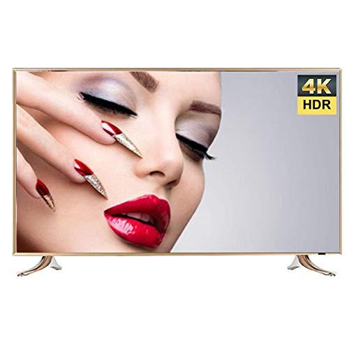 4K UHD Smart WiFi TV, 32/42/50/55/60/65 Pulgadas Android TV IPS TV Ultrafina de Panel Plano LCD a Prueba de explosiones, con Soporte de Pared y Base, USB Incorporado, HDMI, AV, VGA