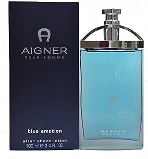 AIGNER Blue Emotion After Shave Lotion For Men, 100 ml