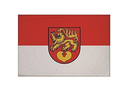 U24 Aufnäher Seesen Fahne Flagge Aufbügler Patch 9 x 6 cm