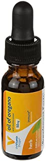 The Vitamin Shoppe Oil of Oregano 50MG, Wild Mediterranean Herbal Supplement That Supports a Healthy Immune System, EVOO, ...