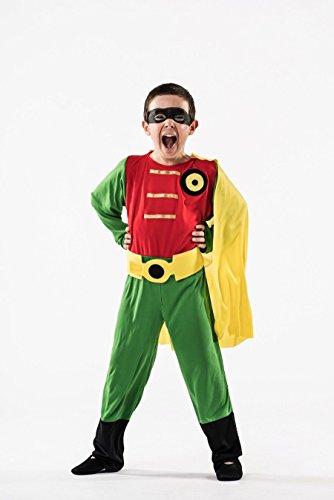 Costume da Robin Impavido per bambino A-(3/5 anni)