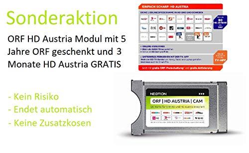 ORF HD Austria CAM mit 5 Jahre ORF GESCHENKT und 3 Monate HD Austria GRATIS