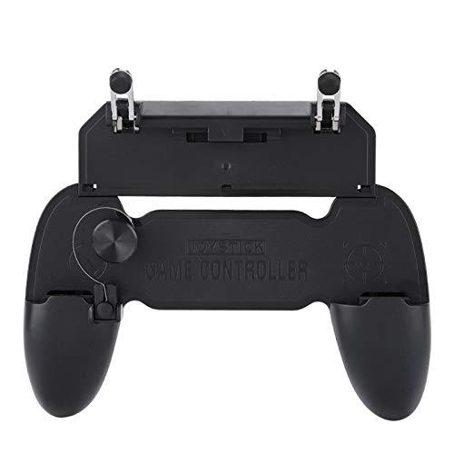 Controlador de Juegos móvil, Gamepad portátil W11 con Controlador de Gamepad móvil Consola Ayudante de Mano Apto para Fundas de Dedos para Juegos de teléfono