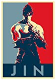 General ART Propaganda Posters Tekken Jin Kazama - A3 (42x30 cm)…