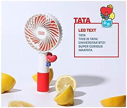 公式★BT21ハンディLED扇風機 携帯扇風機 2019 HANDYFAN7種 BTSグッズ 韓国語 (TATA)