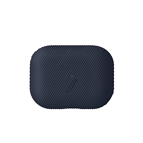 NATIVE UNION Curve Case für AirPods Pro – Schlanke, strukturierte Silikonhülle, Kompatibel mit AirPods Pro (Marineblau)