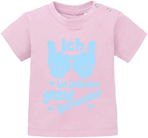 EZYshirt EZYshirt® Ich bin Bald eine Grosse Schwester Baby T-Shirt