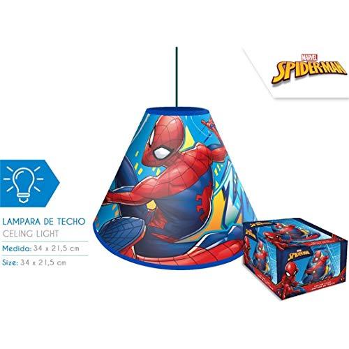 Spiderman plafondlamp voor kinderen, unisex, meerkleurig (meerkleurig)