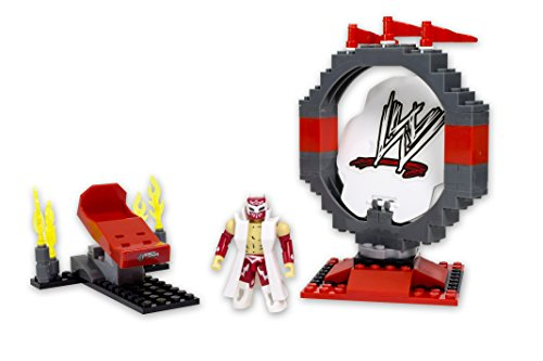 WWE Wrestling Stack Down Universe Building Toy Set #21001 High Flyin' Sin Cara by C & C