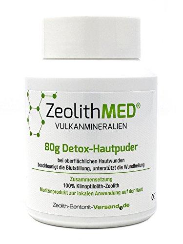 Zeolith MED 80g Detox-Hautpuder