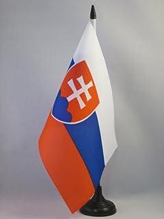 BANDERINA de DESPACHO del Planeta Tierra 14 x 21 cm AZ FLAG Bandera de Mesa de la Humanidad 21x14cm