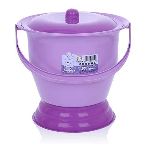 LP-LLL Tragbare Toiletten - Töpfe, Plastik, Kinder, Schwangere Frauen, weibliche Urineimer, Erwachsene mit Deckeln, Urintöpfe, Urinale Spucknapf