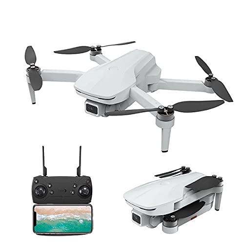 Drone pieghevole con fotocamera adatto per adulti, bambini e principianti-Quadcopter RC con fotocamera 4K Full HD-Selfie Gesture Control-Ritorno automatico GPS-Follow me-Custodia per il trasporto