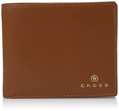 Cross Tan Leather Men's Wallet (AC1108366-12)