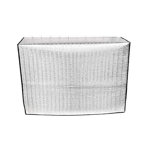 Peahop Kabine Klimaanlage Abdeckung Klimaanlage Außengerätabdeckung Isolierung wasserdichte Schutzabdeckung Klimaanlagenabdeckung Außengerät Aluminium