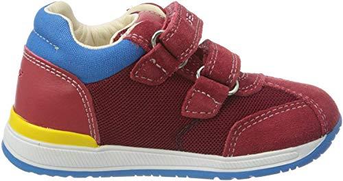 Geox Baby Jungen B RISHON Boy B Sneaker, Rot (Red C7000), 24 EU