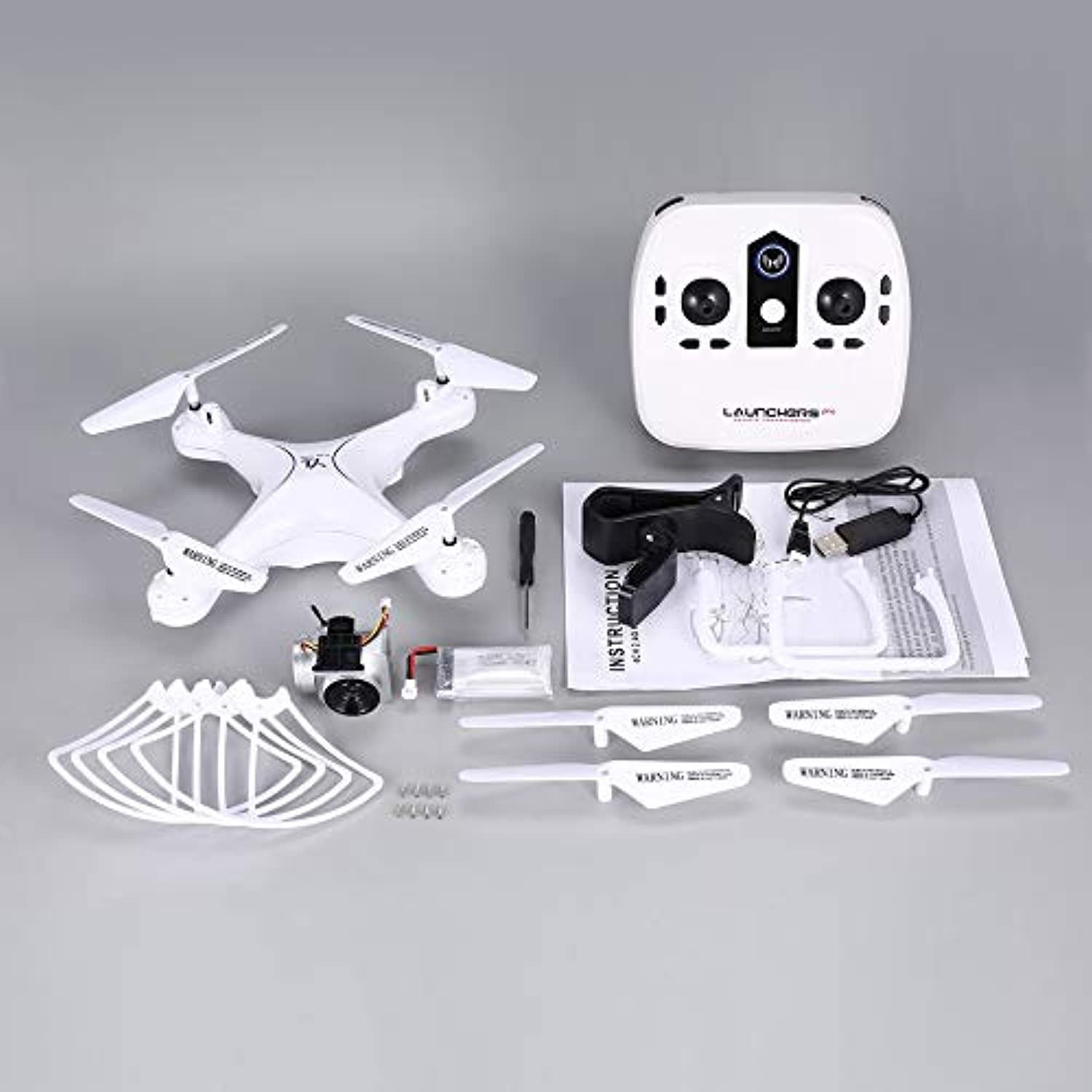 Fdghhgjgtkuyiuy S28 RC Drone 2.4G Selfie Quadcopter Aircraft with 1080P HD Wifi FPV Camera Altitude Hold Headless 3D Flip 18min Long Flight