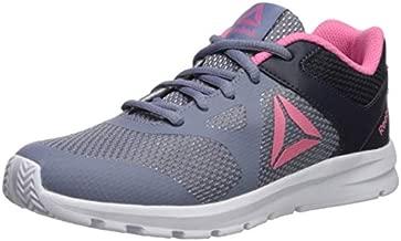 Reebok Girl's Rush Runner Running Shoe, Indigo/Navy/Pink, 11 M US Little Kid